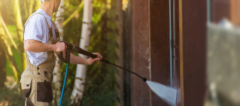 How Pressure Washing Helps Make a Great First Impression