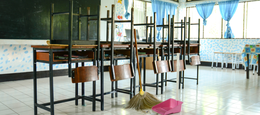 Effective School Cleaning to Keep Flu from Spreading