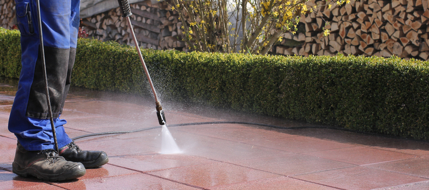 Maintain Your Office's Exterior with Pressure Cleaning