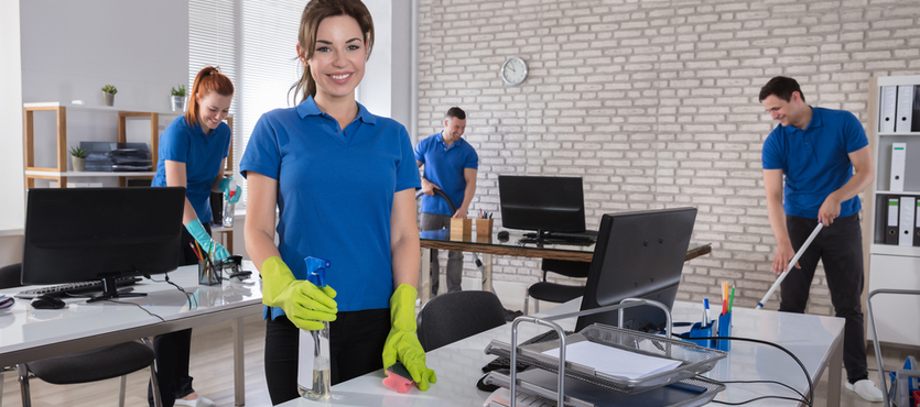 Overlooked Dirty Surfaces in Offices