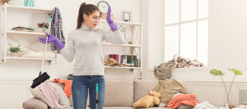 Is a Dirty Home Making You Sick?